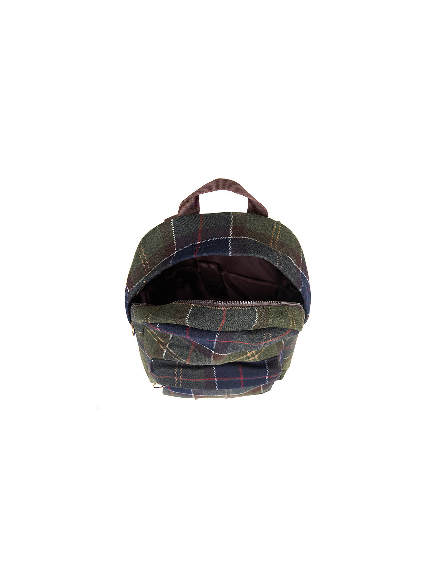 Buy Barbour Carrbridge Backpack, Classic Tartan Online at johnlewis.com