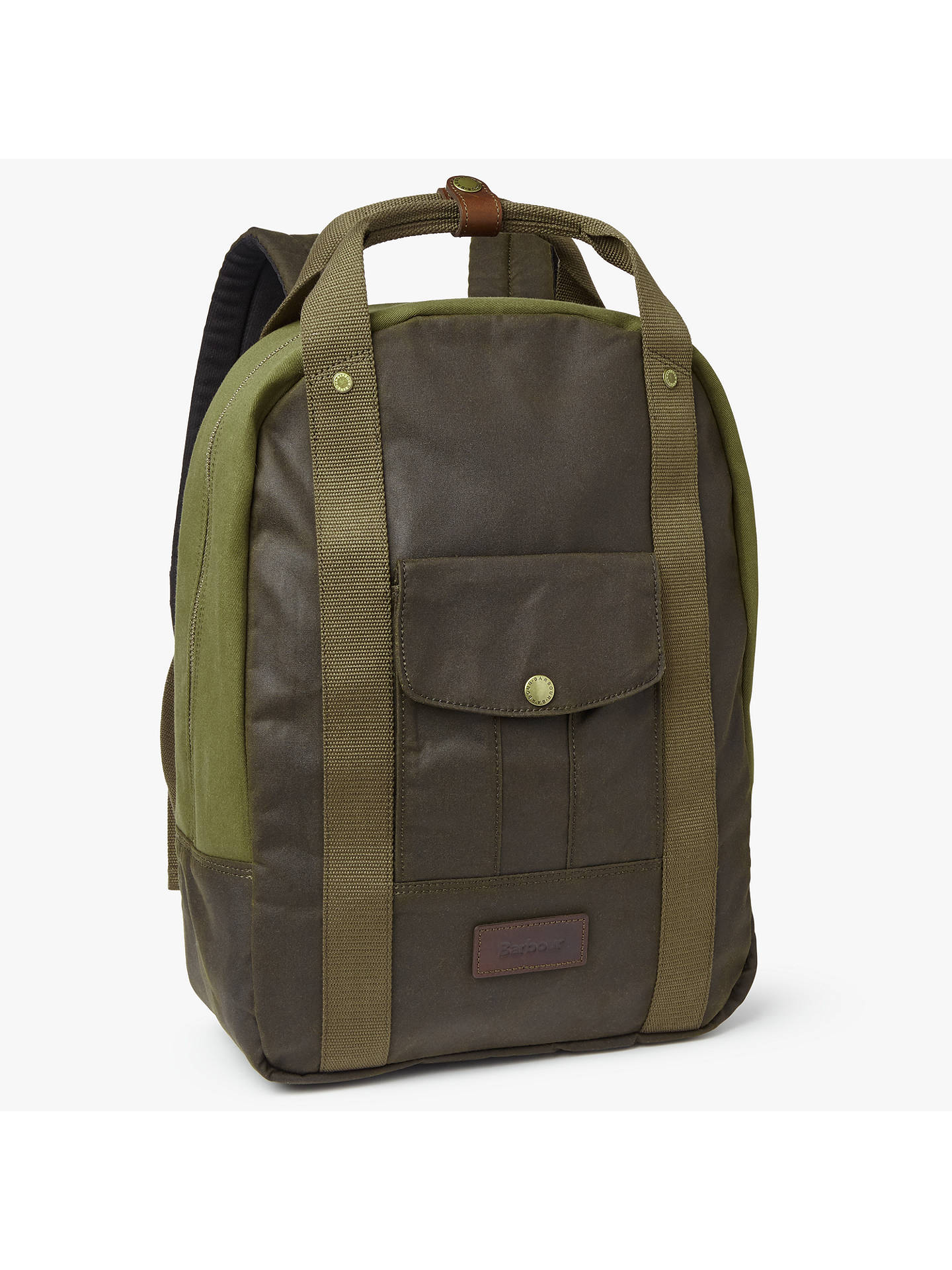 7f175007481c BuyBarbour Archive Waxed Cotton Backpack