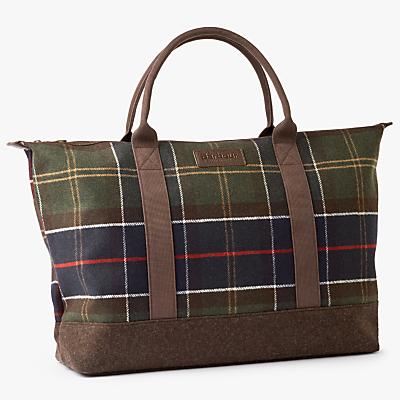 Barbour Elgin Wool-Blend Holdall, Multi