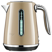 Buy Sage by Heston Blumenthal Soft Top Luxe Kettle, Champagne Online at johnlewis.com
