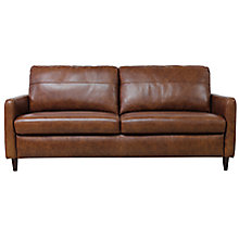 Buy John Lewis Dalston Large 3 Seater Leather Sofa Online at johnlewis.com