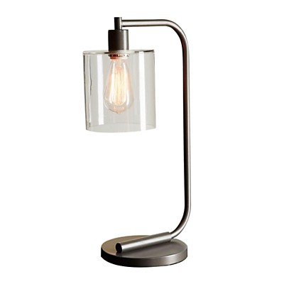 west elm Lens Table Lamp, Antique Bronze