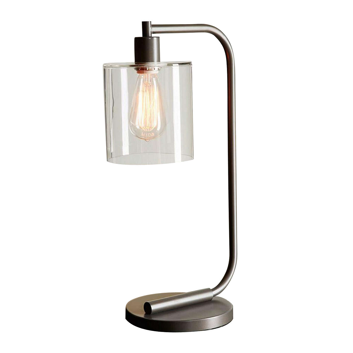 Buywest elm Lens Table Lamp, Antique Bronze Online at johnlewis.com