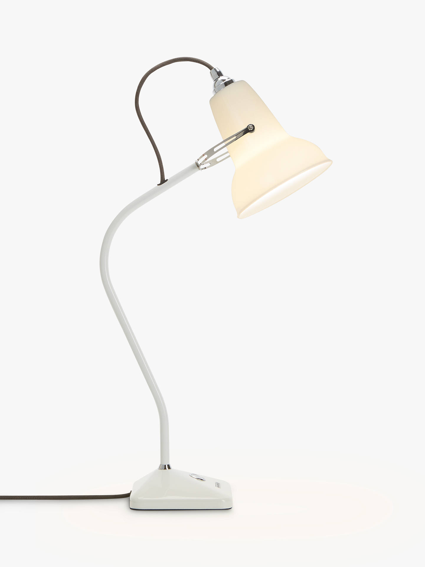 Buy Anglepoise 1227 Mini Ceramic Desk Lamp, White Online at johnlewis.com