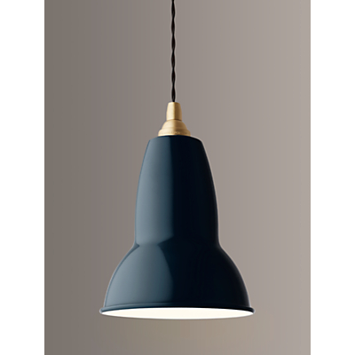 Image of Anglepoise 1227 Brass Ceiling Light, Ink