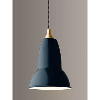 Ceiling lights view all design john lewis anglepoise 1227 pendant light ink brass exclusive to john lewis mozeypictures Choice Image