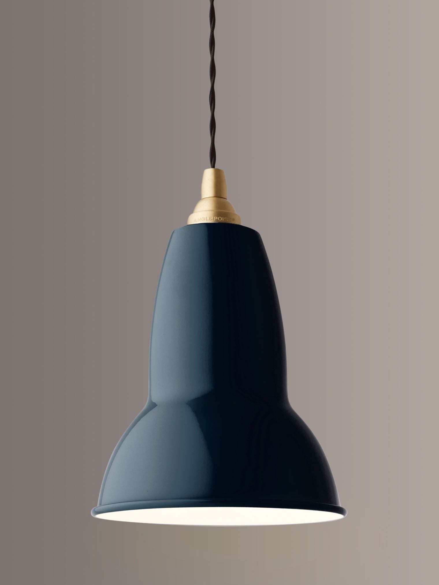 Anglepoise Anglepoise 1227 Brass Ceiling Light, Ink