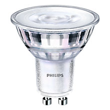 Buy Philips 5.5W GU10 LED Warm White Dimmable Light Bulb, Pack of 6 Online at johnlewis.com