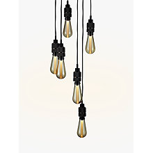 Buy Buster + Punch Hooked 6.0 Ceiling Light, Smoked Bronze Online at johnlewis.com