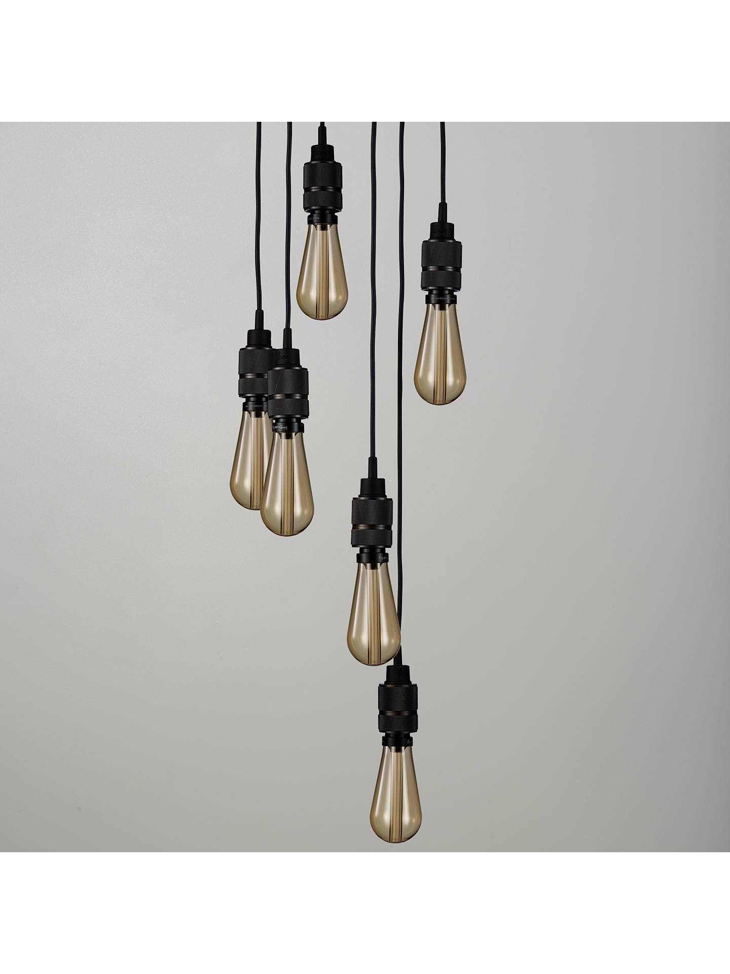BuyBuster + Punch Hooked 6.0 Ceiling Light, Smoked Bronze Online at johnlewis.com