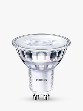 Philips 4.5W LED  Warm Glow GU10 Dimmable Light Bulb