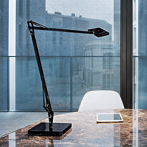 buy flos kelvin led edge desk lamp john lewis. Black Bedroom Furniture Sets. Home Design Ideas