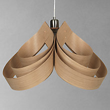 Buy Tom Raffield Cape Pendant Ceiling Light, 60cm Online at johnlewis.com