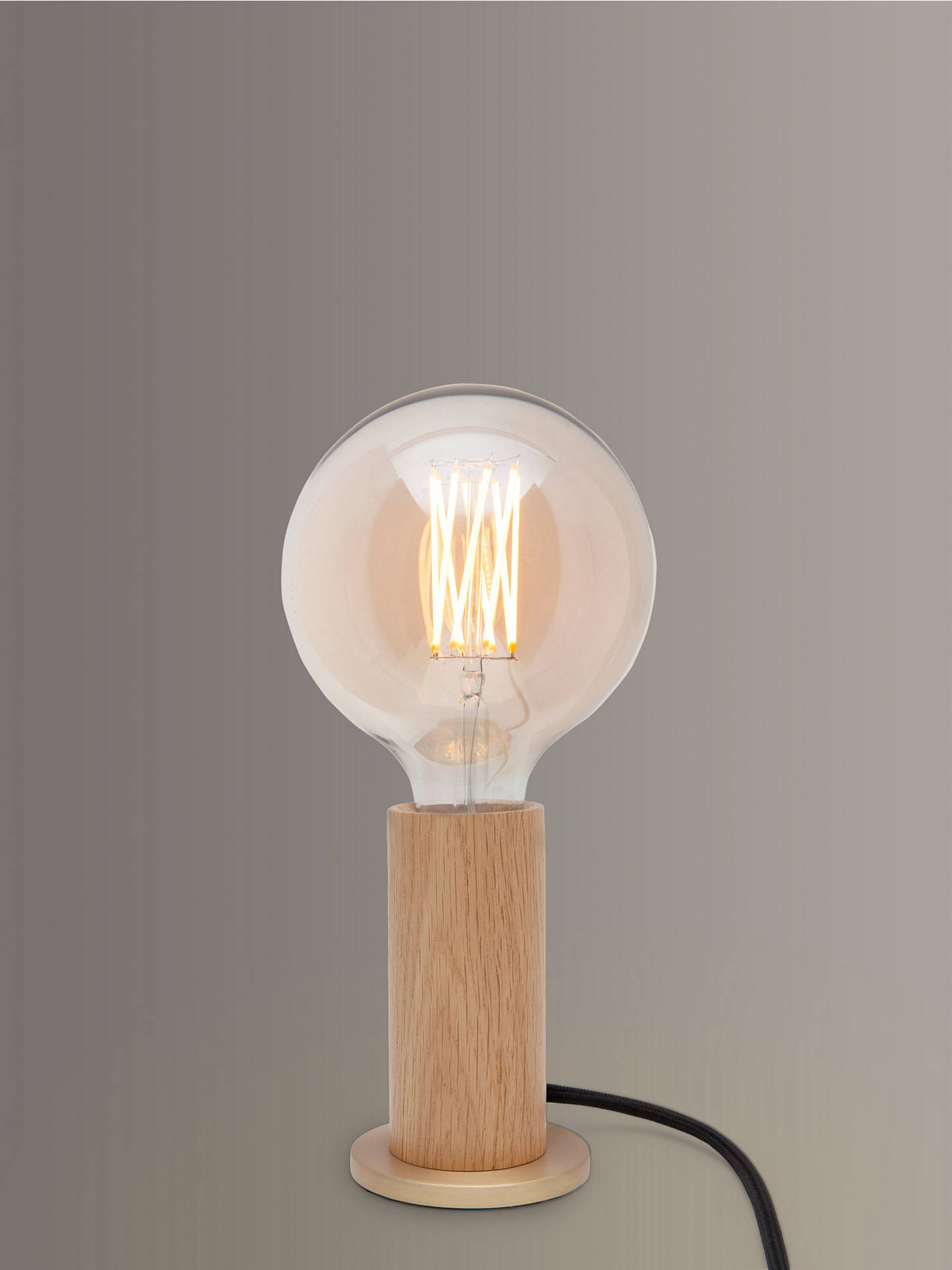 Buy Tala LED Touch Lamp, Oak Online at johnlewis.com