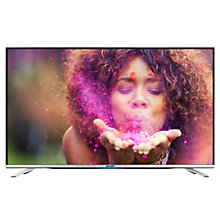 "Buy Sharp LC40CFG6452K LED Full HD 1080p Smart TV, 40"" with Freeview HD, Miracast & Harman/Kardon Sound, Silver Online at johnlewis.com"