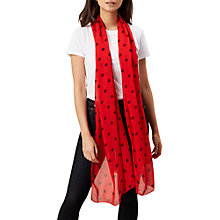 Buy Hobbs Lisa Spot Scarf Online at johnlewis.com