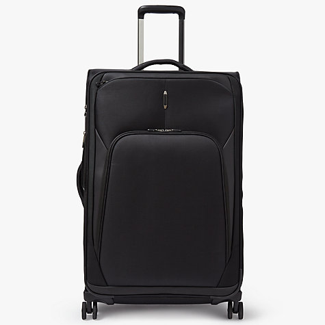 Buy John Lewis 4-Wheel Noir Luxury 76cm Large Suitcase, Black ...