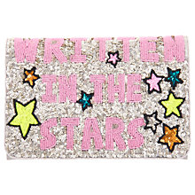 Buy From St Xavier Written In The Stars Foldover Clutch, Multi Online at johnlewis.com