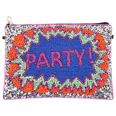 From St Xavier Party Zip Top Pouch, Multi