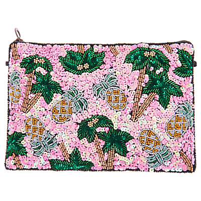 From St Xavier Pammie Zip Top Pouch, Multi