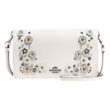 Buy Coach Leather Willow Flower Cross Body Purse Online at johnlewis.com