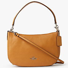 Buy Coach Chelsea Polished Pebble Leather Across Body Bag Online at johnlewis.com