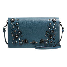 Buy Coach Leather Willow Flower Across Body Purse Online at johnlewis.com