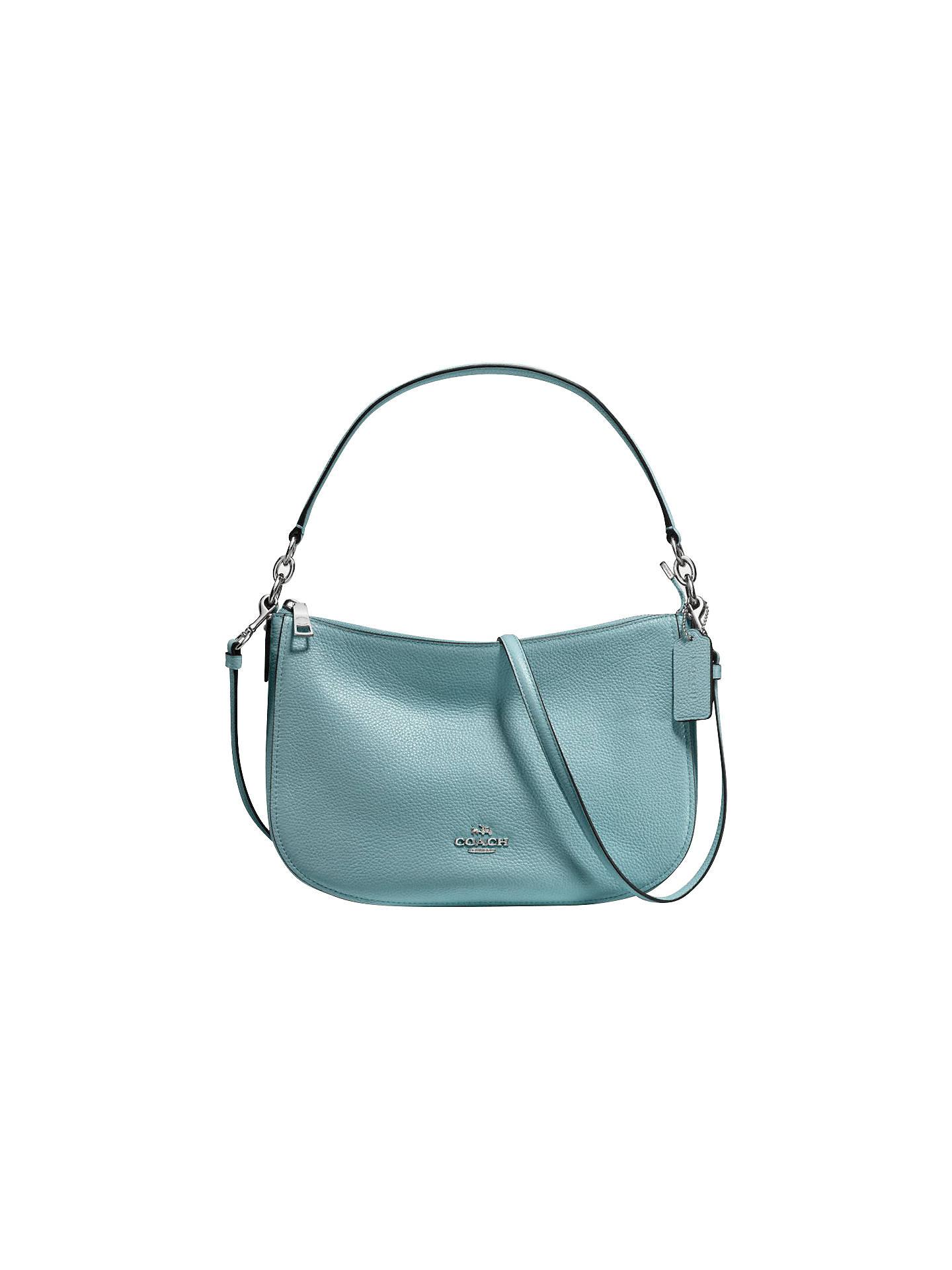 06b7b9ebd1fe3 Buy Coach Chelsea Pebble Leather Cross Body Bag, Cloud Online at  johnlewis.com