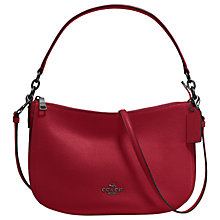Buy Coach Chelsea 32 Pebble Leather Across Body Bag Online at johnlewis.com