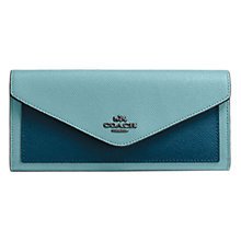 Buy Coach Leather Soft Wallet Online at johnlewis.com