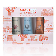 Buy Crabtree & Evelyn Hand Cream Sampler Set Online at johnlewis.com