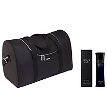 Buy Giorgio Armani Black Code For Men Eau de Toilette 50ml with Gift Online at johnlewis.com