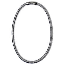 Buy Adele Marie Wound Thread Necklace, Silver Online at johnlewis.com