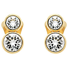 Buy Finesse Swarovski Crystal Clip-On Earrings Online at johnlewis.com