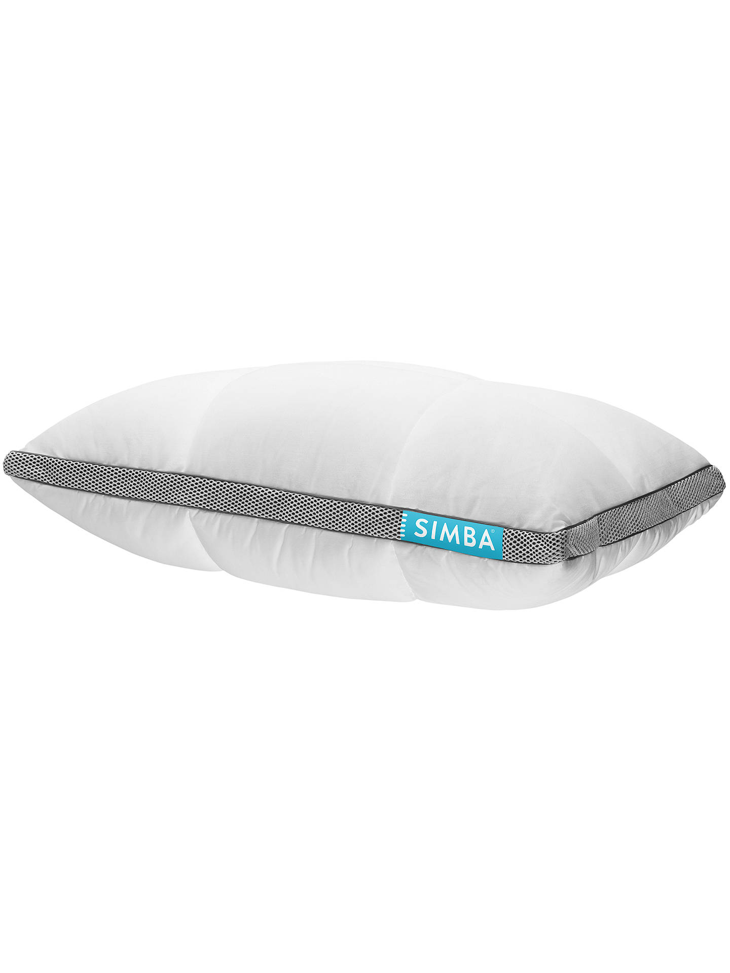 Buy SIMBA Hybrid® Standard Pillow, Adjustable Online at johnlewis.com