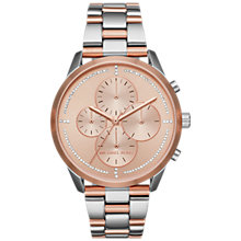 Buy Michael Kors Women's Slater Chronograph Bracelet Strap Watch Online at johnlewis.com