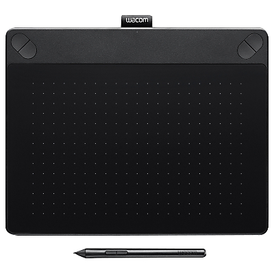 Wacom Intuos 3D Pen Tablet, Small, Black