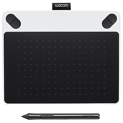 Image of Wacom Intuos Draw Pen Tablet, Small, Black