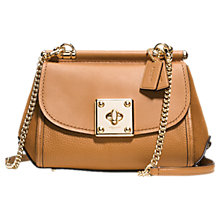 Buy Coach Drifter Leather Cross Body Bag Online at johnlewis.com