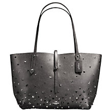 Buy Coach Market Leather Tote Bag, Multi Online at johnlewis.com