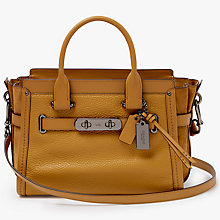 Buy Coach Swagger 27 Leather Shoulder Bag Online at johnlewis.com