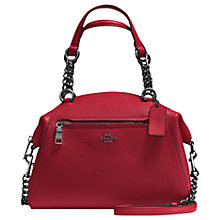 Buy Coach Prarie Chain Leather Satchel Bag Online at johnlewis.com