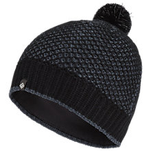 Buy Ronhill Bobble Hat, One Size, Black/Charcoal Online at johnlewis.com