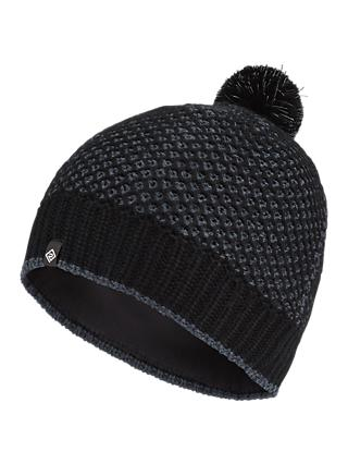 Ronhill Bobble Hat, One Size, Black/Charcoal