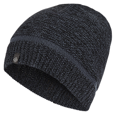 Ronhill Victory Beanie Hat, Black/Charcoal