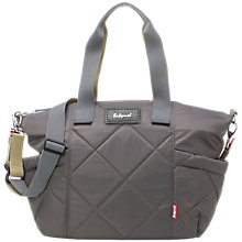 Buy Babymel Evie Quilted Changing Bag, Charcoal Online at johnlewis.com