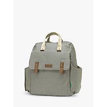Buy Babymel Robyn Convertible Backpack, Navy Stripe Online at johnlewis.com