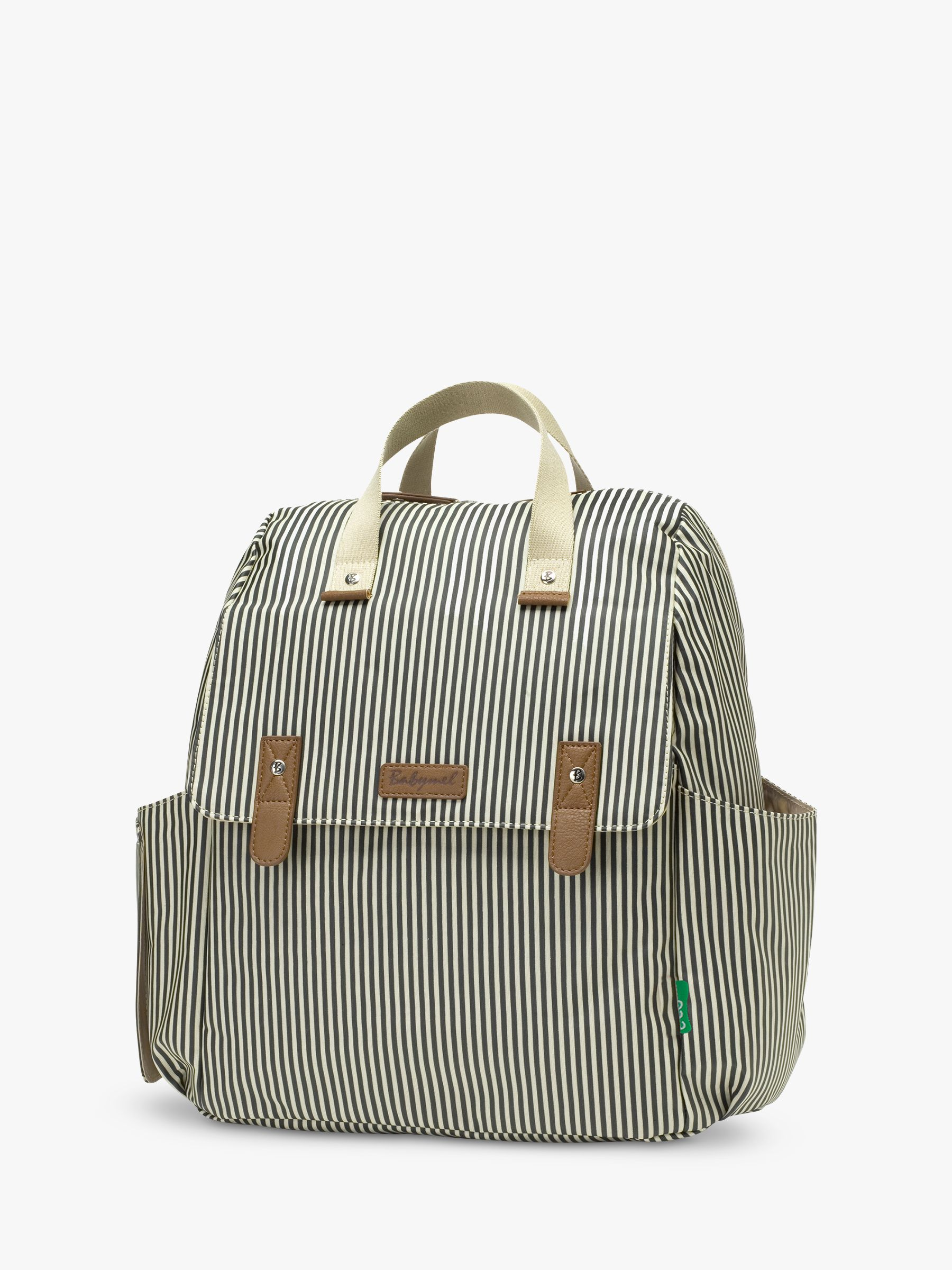 Babymel Babymel Robyn Convertible Backpack, Navy Stripe