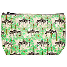 Buy Fenella Smith Zebra and Palm Tree Canvas Make Up Bag Online at johnlewis.com