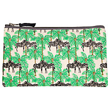 Buy Fenella Smith Zebra and Palm Tree Canvas Pencil Case Online at johnlewis.com